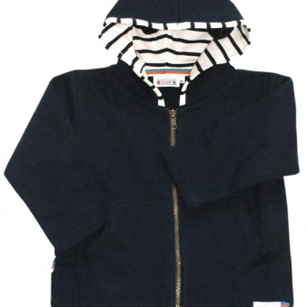 Children hoody navy uni