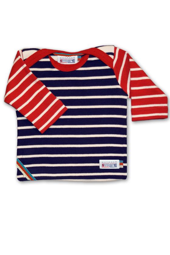 Classic Breton babyshirt 3colors