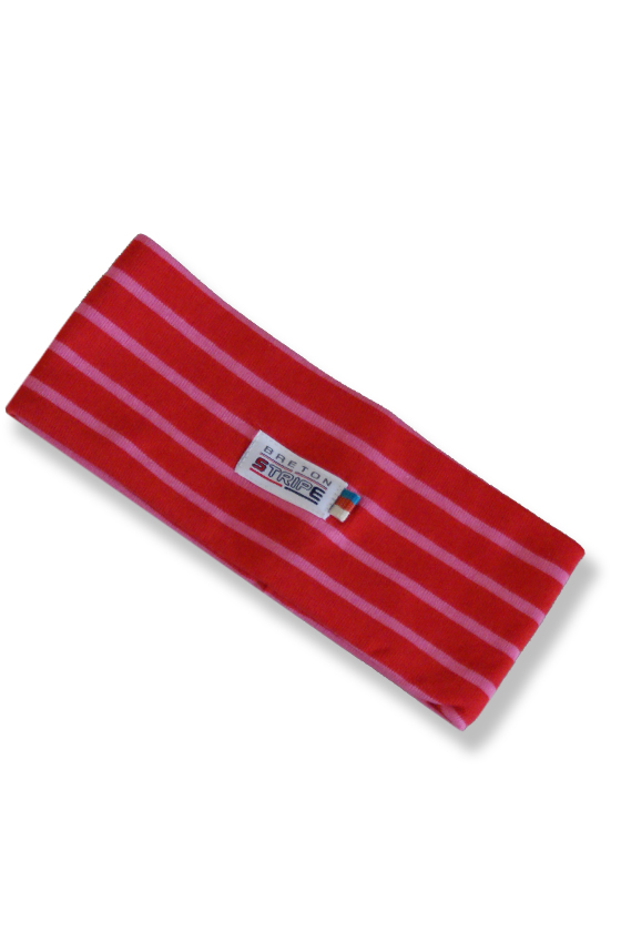 Headband A04 red fuxia