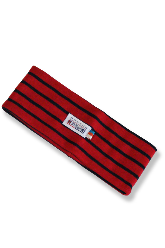 Headband A04 red navy