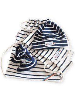 baby cadeau navy naturel