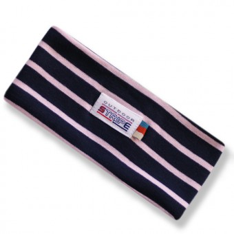 haarband navy pink