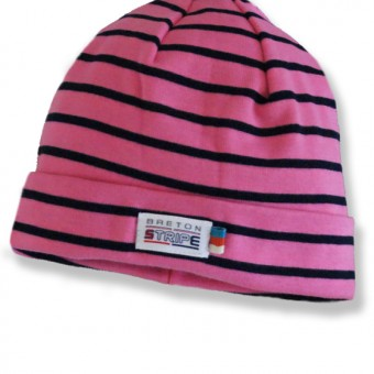 kids hats fuxia navy