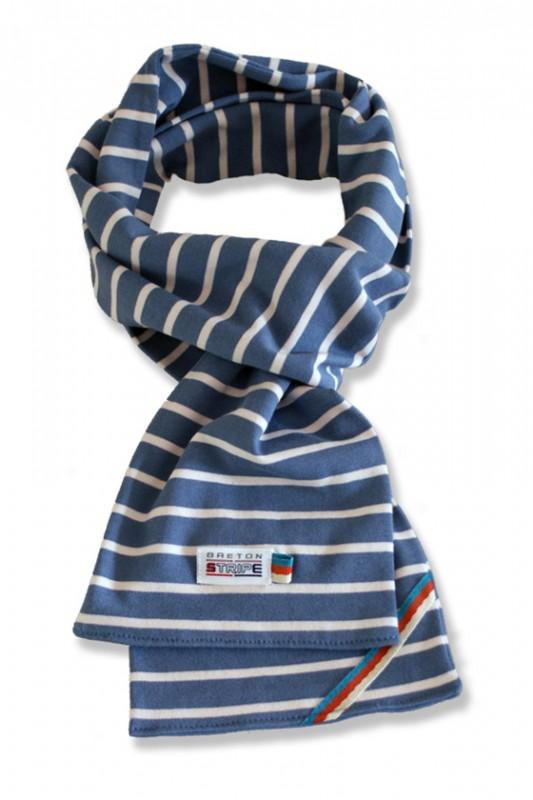 sjaal kinder K02 jeans naturel
