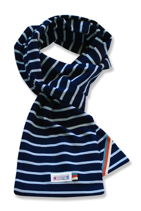 sjaal kinder K02 navy sky bue