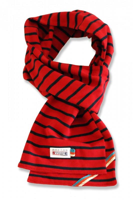 sjaal kinder K02 red navy
