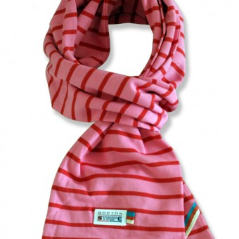sjaal kinder K02 rose fuxia